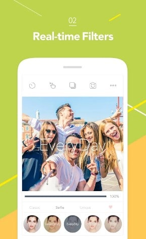 Candy Camera - best android selfie camera apps