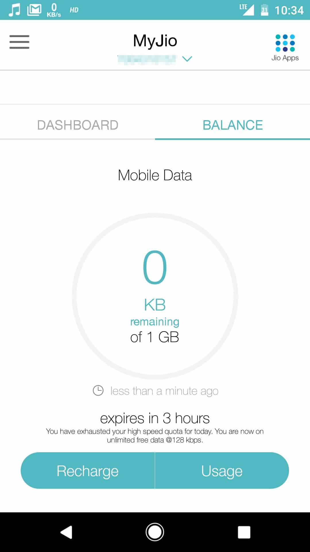 How to Bypass Reliance Jio Data Cap Limit on Android