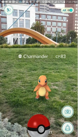 pokemon go - best augmented reality apps for android - Best AR Apps for Android