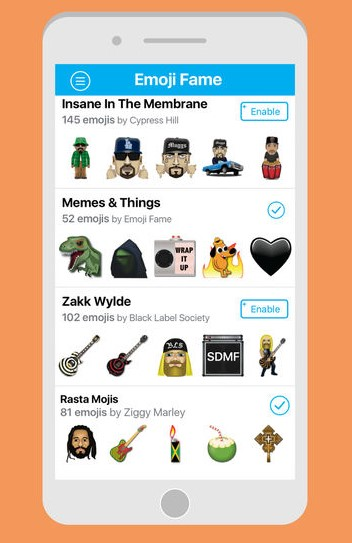 cool emoji apps - Emoji Fame - Best Emoji Apps to Get Extra Emoticons for Android and iOS