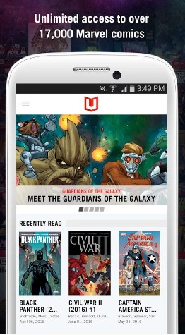 marvel unlimited - best comic apps for Android - Comic Book Reader App - Comic Book App for Android - Best Android Comic Book Reader Apps