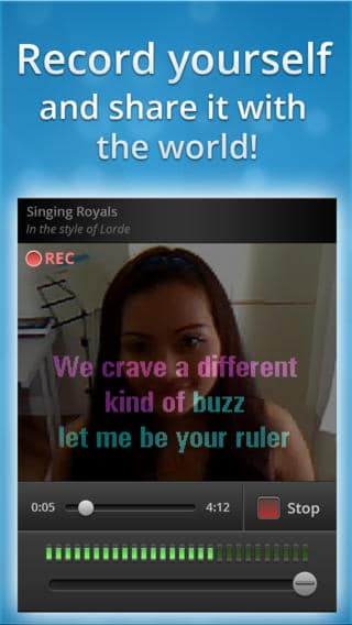 singsnap karaoke - Best iPhone Karaoke App - Best Karaoke Apps for iPhone - Best Karaoke Singing App