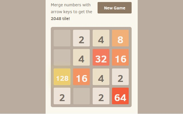 2048 - Best Chrome Games to Play Without WiFi - Best Free Games without WiFi - No WiFi Games for Chrome