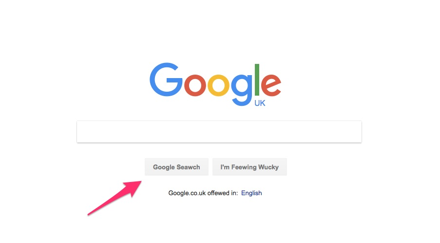 Google Search Tips Tricks - Access Google Search's Interface in Different Writing Style