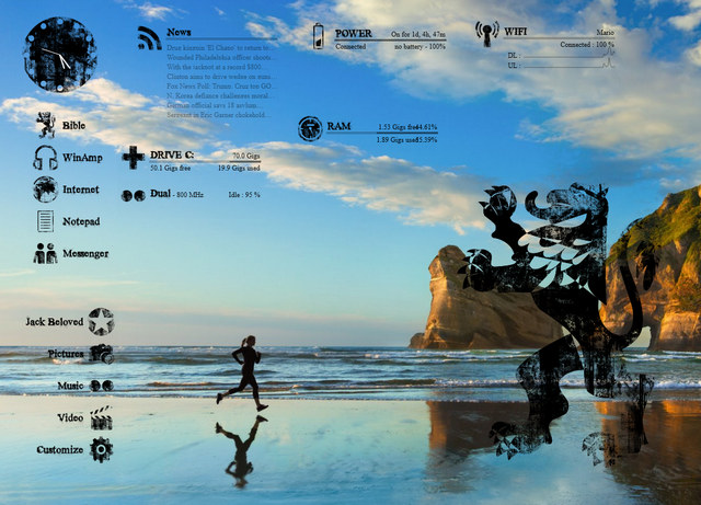 PILEUS - Best Rainmeter Skins - Cool Skins for Rainmeter Theme - 20 Best Rainmeter Skins to Customize Rainmeter