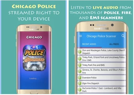 Chicago Police Scanner Radio - Best Police Scanner Apps for Free on Android