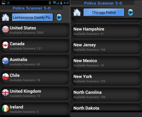 Police Scanner Free - Best Police Scanner Radio App for Free- Best Police Scanner Radio App for Free - Best Police Scanner Apps for Free on Android