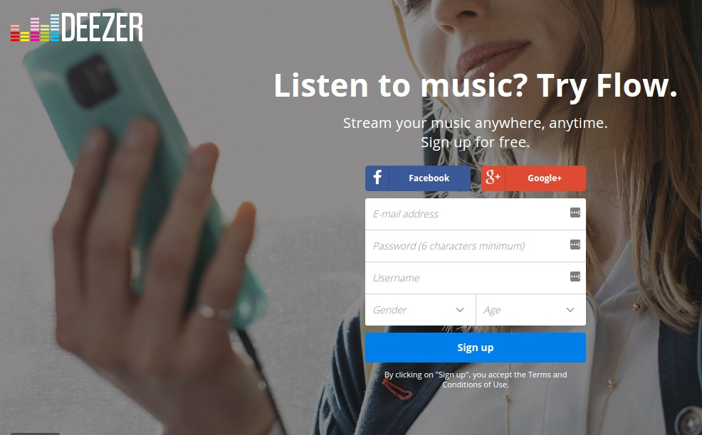 deezer - Best Grooveshark Alternatives - Best Alternatives to Grooveshark - Sites similar to Grooveshark