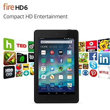 Fire HD 6 Tablet - Best Tablets for College Students - Top 7 Best Tablets for College Students