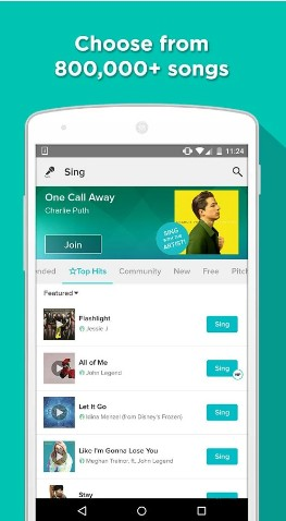 Smule Sing - Best Voice Editor Apps for Singing - Best Singing Voice Editor Apps That Make You Sound Good