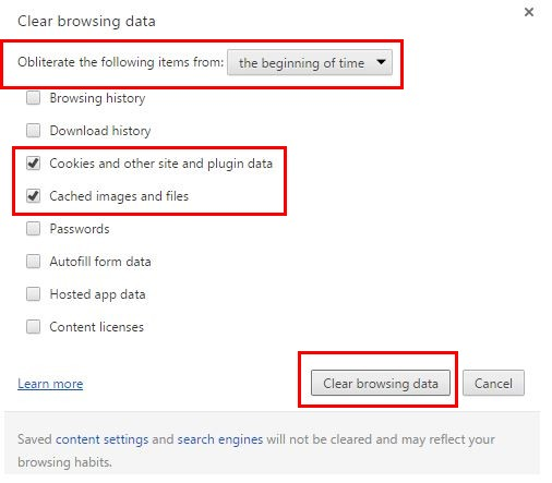 Wipe Chrome's Data - Fix err spdy protocol error - How to Fix ERR_SPDY_PROTOCOL_ERROR in Chrome?