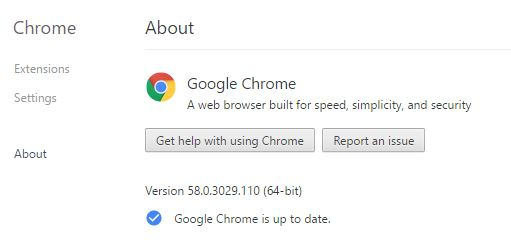 Update Chrome - Fix err spdy protocol error - How to Fix ERR_SPDY_PROTOCOL_ERROR in Chrome?