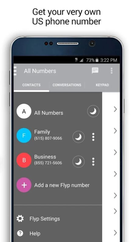 Flyp Number Changing App - Best Apps to Change Phone Number - Change Your Phone Number