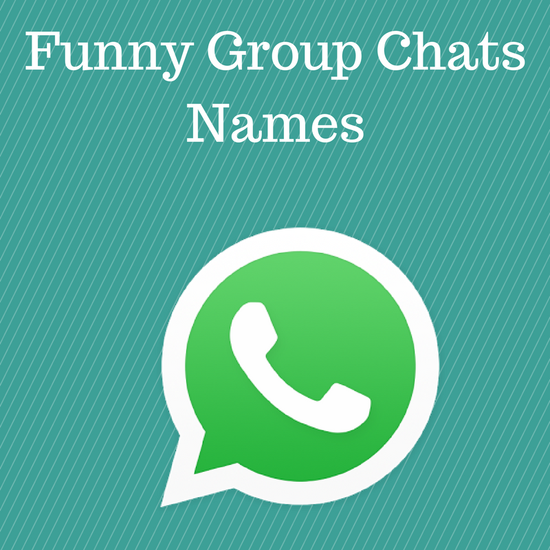 Funny Group Chat Names - Funny Group Names for a Chat