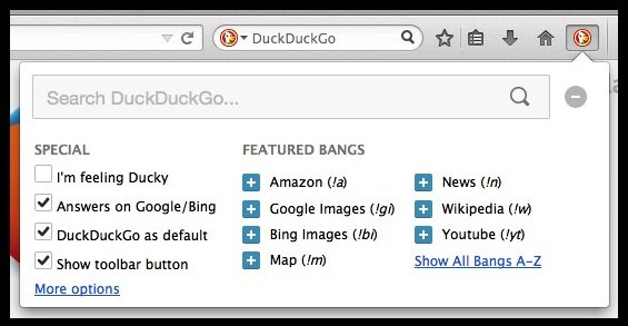duck duck go - Best Addons for Firefox - Top 8 Best Firefox Addons for Secure Browsing