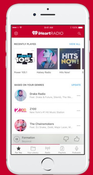iHeart Radio App for iPhone - Best FM Radio App for iPhone