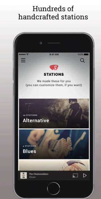 Slacker Radio App for iPhone - Best FM Radio Apps for iPhone