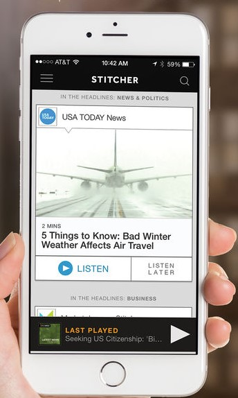Sticher Radio - fm radio app for iPhone - Best FM Radio Apps for iPhone