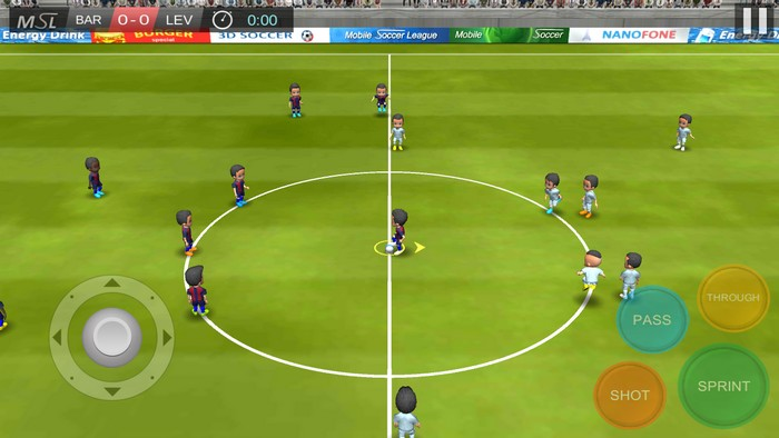 Mobile Soccer League Games for Android - Best Soccer Apps for Android - Free Soccer Gaming App on Android