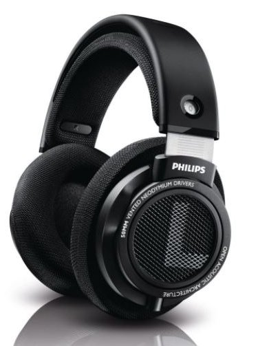 Philips SHP9500S HiFi Precision Stereo Over-ear Headphones for Gaming - Best Open Back Headphones Under $100