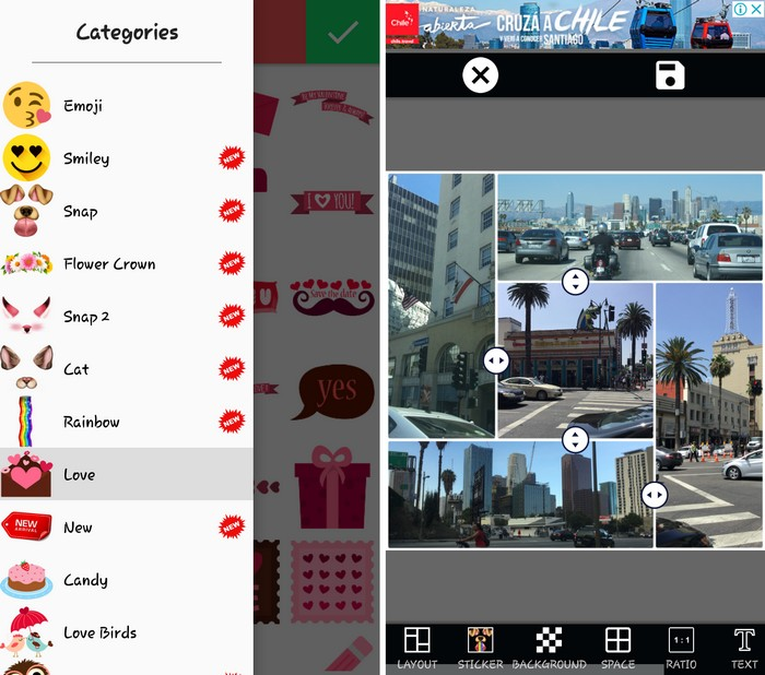 Photo Editor Collage Maker Pro - Best Side by Side Picture App to Put Two Pictures Side by Side