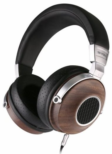 HiFi Stereo Headphones, Wooden Open Back Headset for Gaming - Best Open Back Headphones Under $200