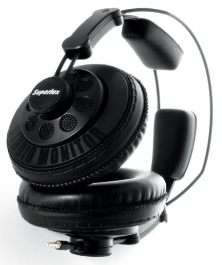 Superlux HD668B Dynamic Semi-Open Headphones for Gaming - Best Open Back Headphones Under $50