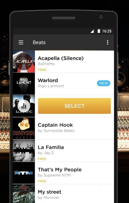battle me - rap studio app for android - Make Your Own Rap Beats