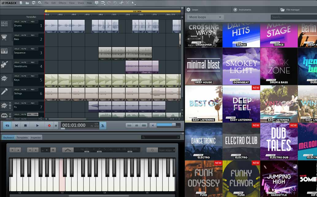 Magix Music Maker - Best Beat Making Software for Windows