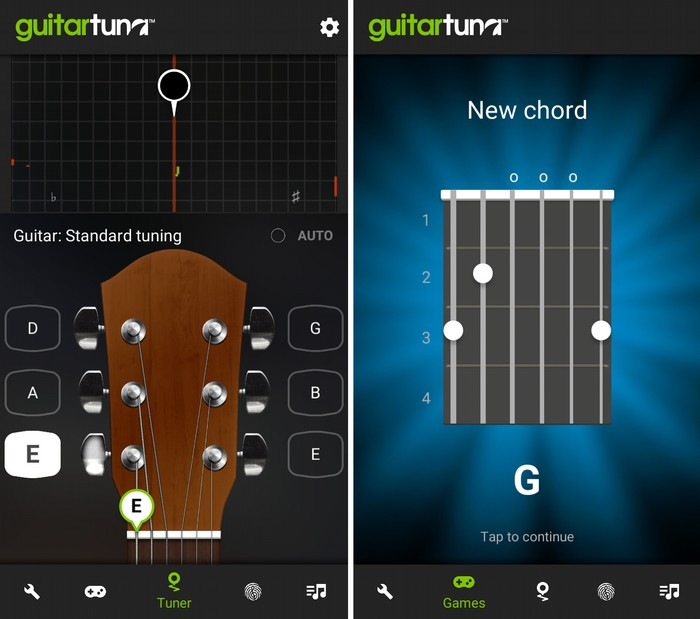 Guitar Tuna Free - Best Android App to Learn Bass Guitar for Free