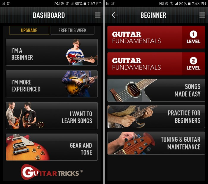 Guitar Lessons by Guitar Tricks - Best Guitar Learning App for Beginners