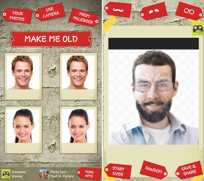 Make Me Old Virtually - Best Age Progression Apps for Free - Free Virtual Age Progression App