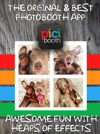 PiciBooth Photo Booth App for iPad - Best Photo Booth Apps for iPhone and iPad