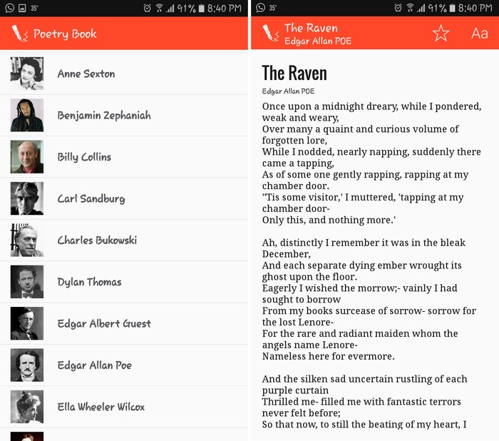 Poetry Book - Best Poetry Writing Apps to Learn Poetry Writing on Android