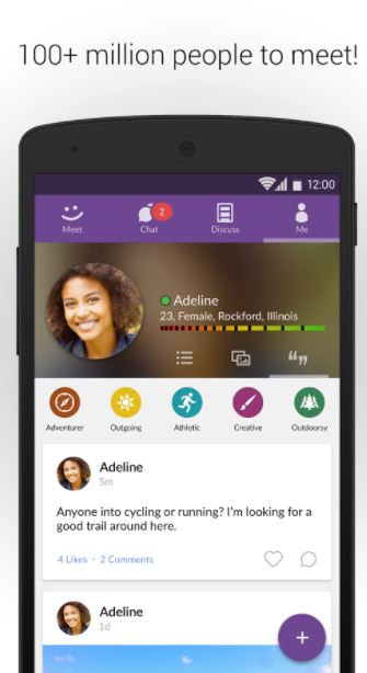 MeetMe - Best Free Random Video Chat App for Android to Meet Strangers