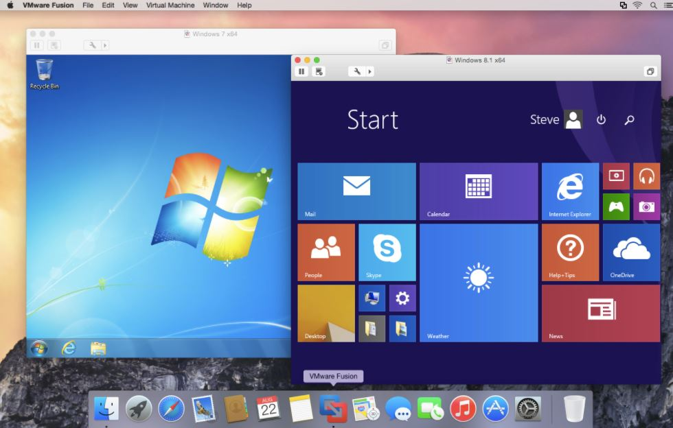 VMware Fusion - Run Windows apps on Mac
