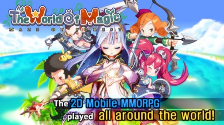 The World of Magic - Games like Zenonia for PC - Games like Zenonia for Android - Games like Zenonia for iPhon