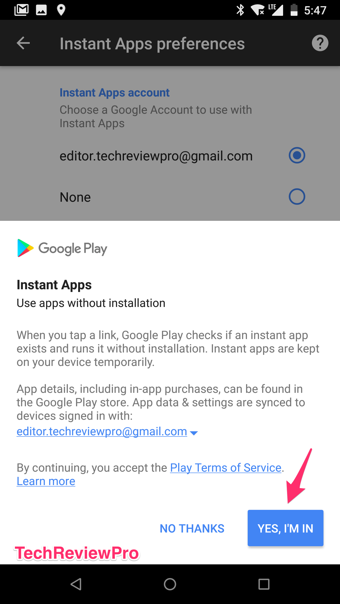 Google Instant Apps - Play Free Games without Downloading on Android