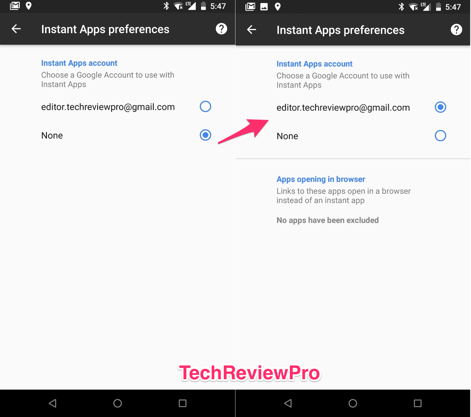 Instant Apps Preferences - How to Play Android Game without Downloading