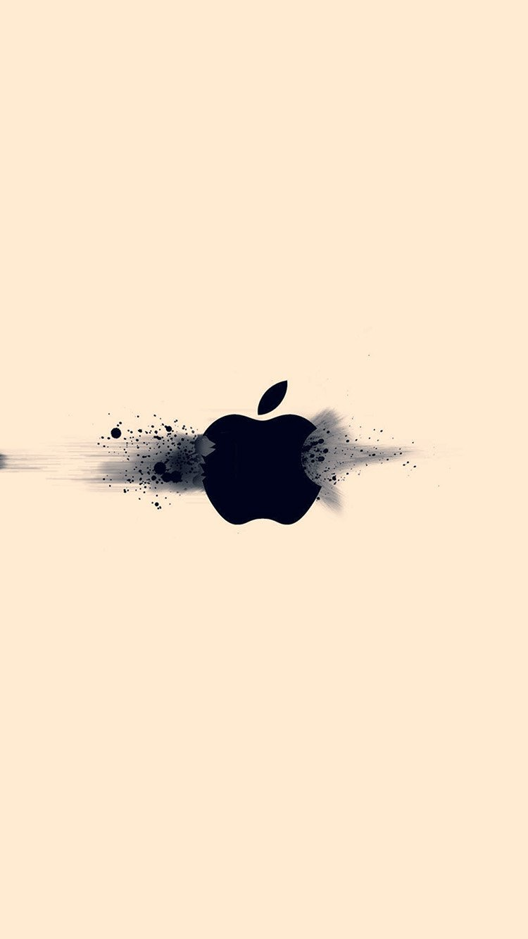 Apple Logo Clean iPhone X Wallpaper iOS 12