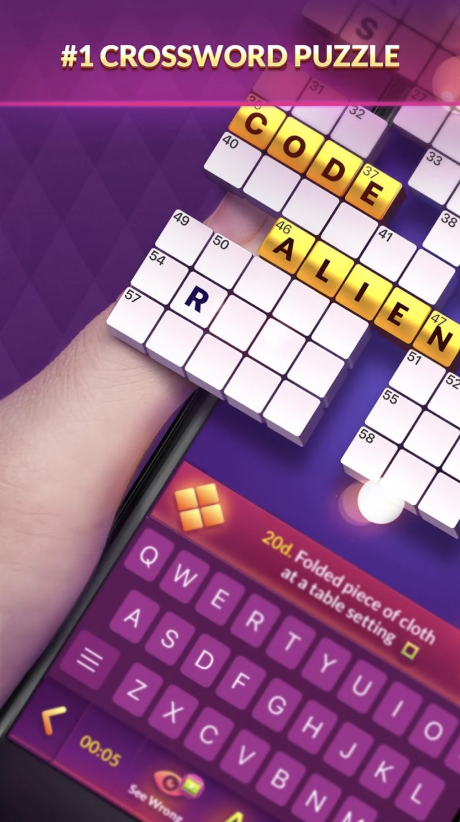 CrossWord Puzzle - Best CrossWord Solver App for Free on Android