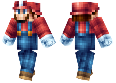 Super Mario Minecraft Skins - Best Minecraft Skins for Super Mario Fans