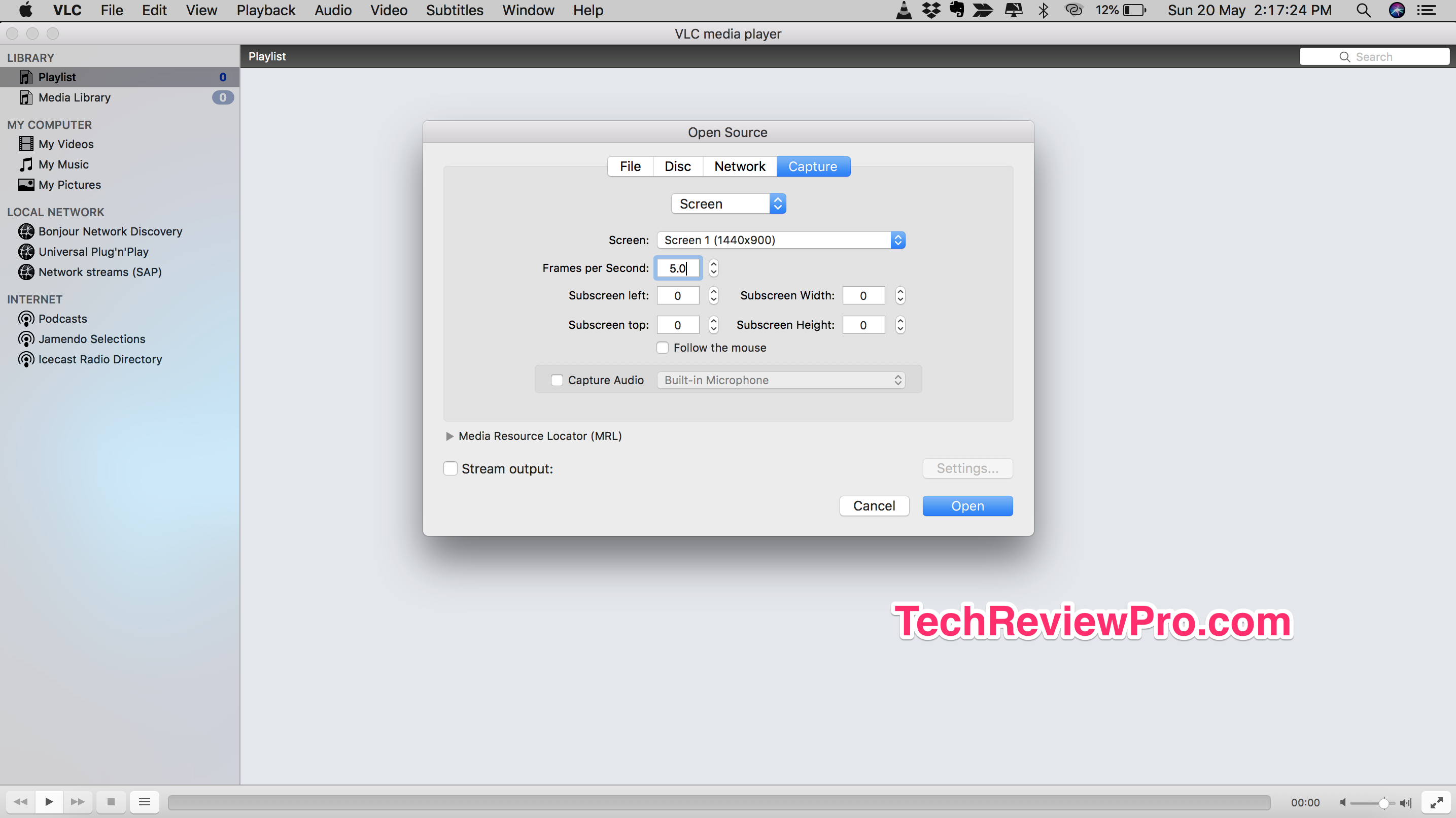VLC Screen Recorder for Mac - Best Free Mac Screen Recorder