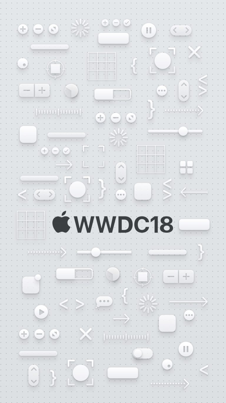 iPhone X WWDC Wallpaper - iOS 12 Wallpaper Free Download