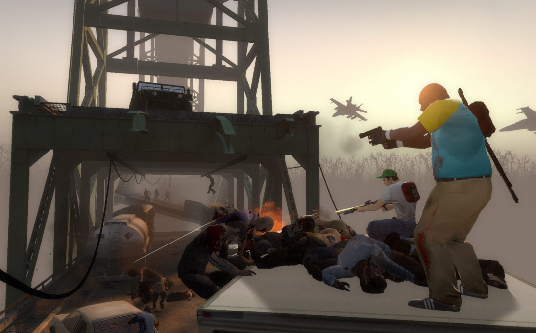 left 4 dead 2 - Multiplayer Zombie Survival Games - 10 Best Multiplayer Zombie Survival Games for PC, Android, and iPhones