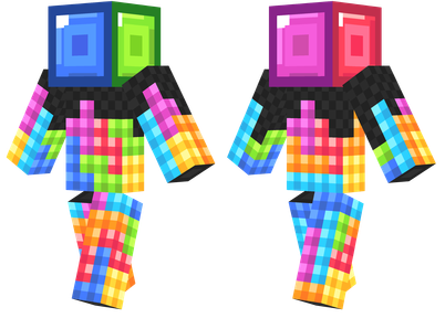 tetris Minecraft Skins for Girls - Best Minecraft Skins for Girls - Skindex Skins