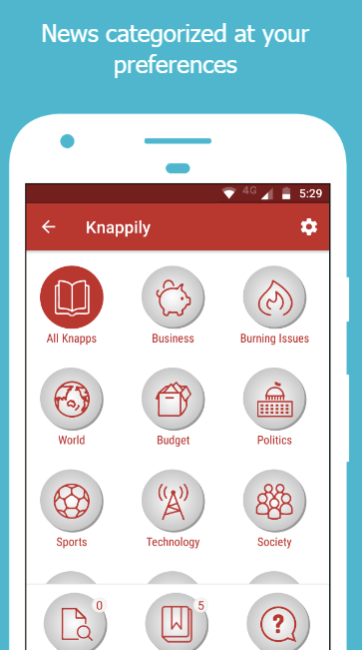 Knappily - The Knowledge App - Best Android App of the Month.png