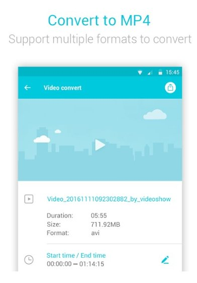 vidcompact video compressor - free video compressor app for Android