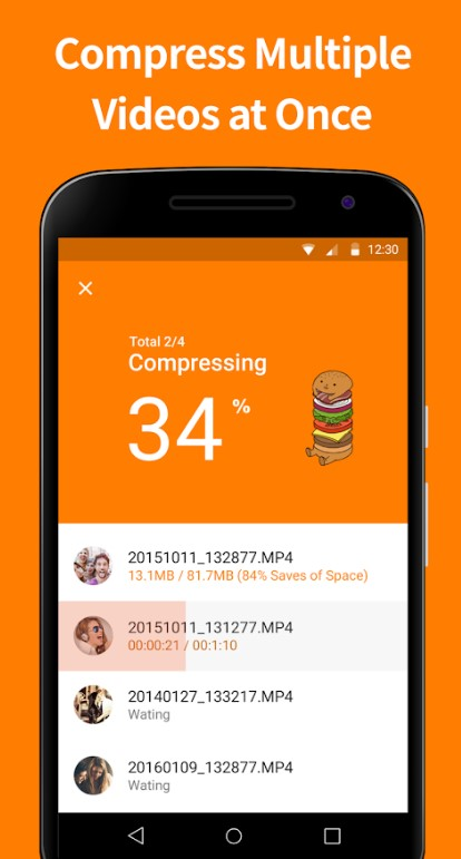 video compressor by sunshine - Apps to Compress Video on Android
