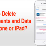 How to Delete Documents and Data on iPhone or iPad?